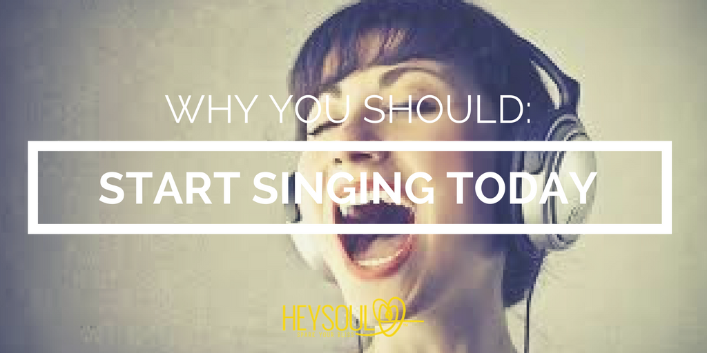 Why You Should Start Singing... Today!