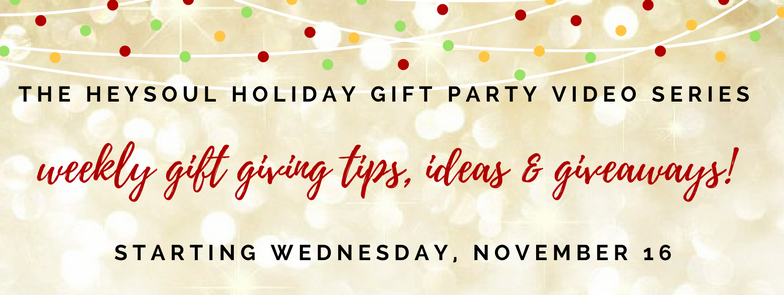 HeySoul Holiday Gift Giving Video Party