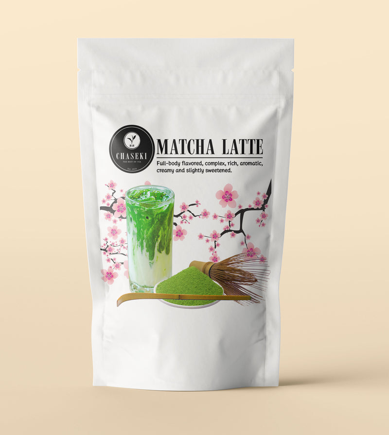 Matcha Latte Powder by Chaseki