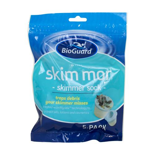 BioGuard Skim Mor Filter Saving Socks- 5pk