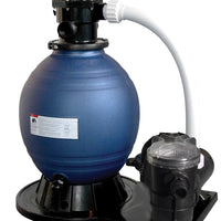 "Blue Torrent 12"" Sand Filtering System w/ 3/4hp Pump for Intex Pools"