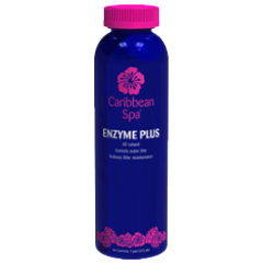 Caribbean Spa Enzyme Plus Scum Reducer for Hot Tubs- 16oz.