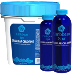 Caribbean Spa Granular Chlorine Hot Tub and Spa Sanitizer
