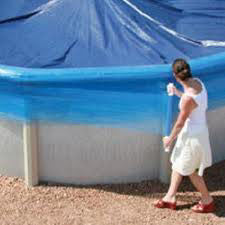 Winter Cover Saver Swimming Pool Cover Wind Wrap