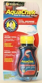 AquaChek 4-IN-1 Bromine Swimming Pool and Spa Red Test Strips