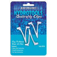 Hydrotools Butterfly Accessory Clips- Replacements for Vac Heads, Brushes