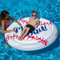 Baseball Pool Float Island- Extra Large 60 in.