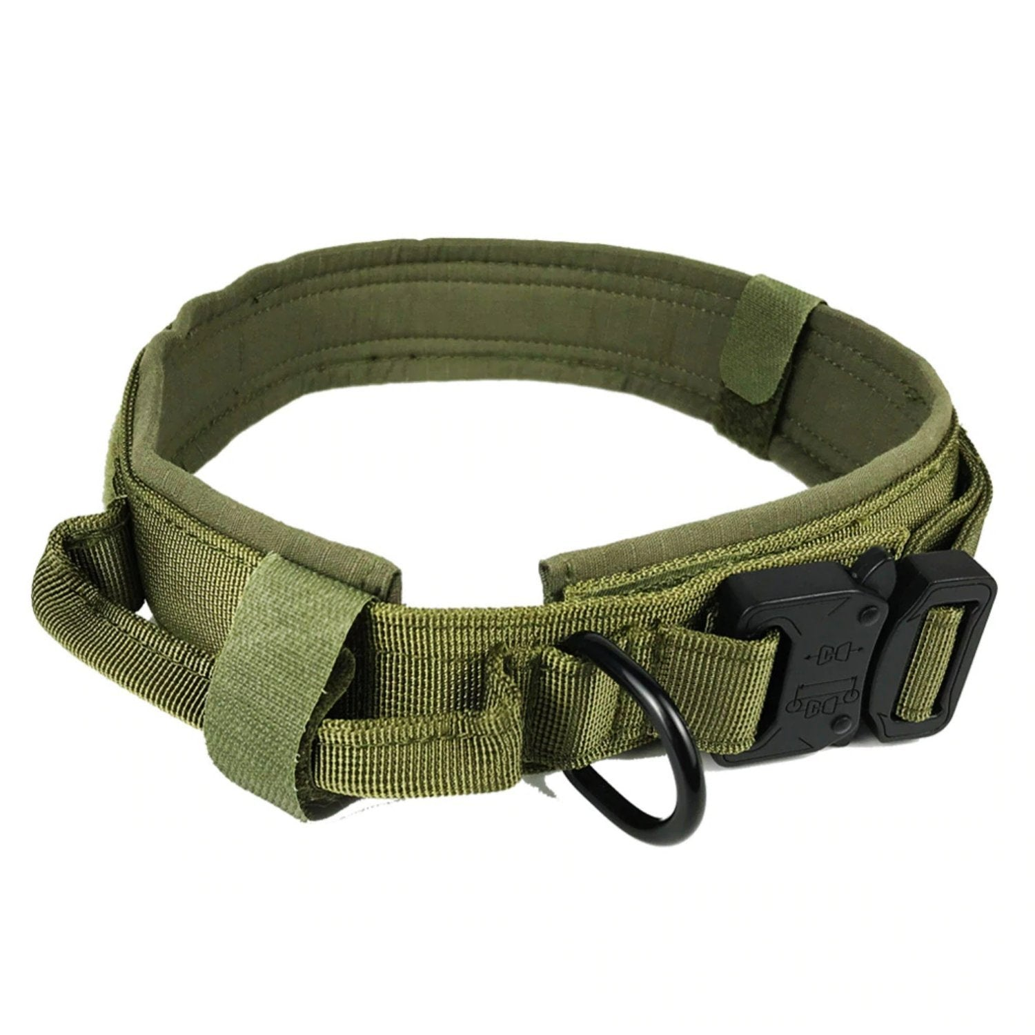 Personalized Tactical Collar With Handle - PetBelong