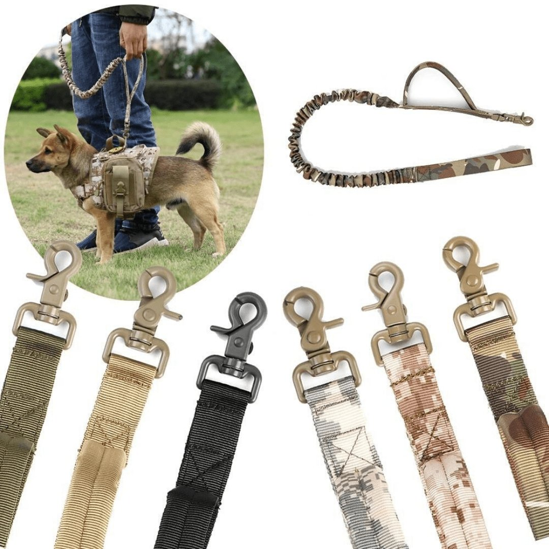 Tactical Dog Harness + FREE Leash - PetBelong