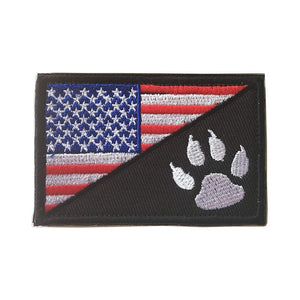 Tactical Flag Patches - PetBelong