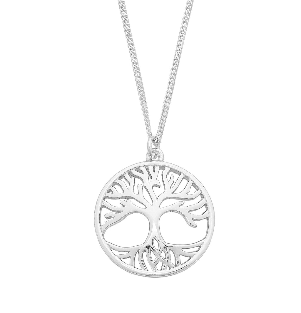 Sterling Silver Tree Pendant M2961