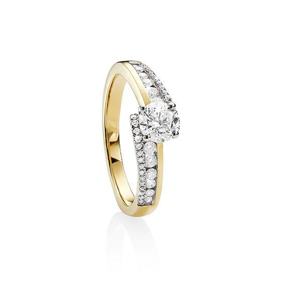 MP5554 9ct YG 1ct Diamond Ring