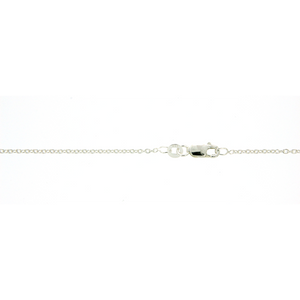 Sterling Silver 40cm rolo chain
