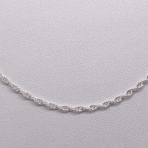 Sterling Silver Double Cable Chain