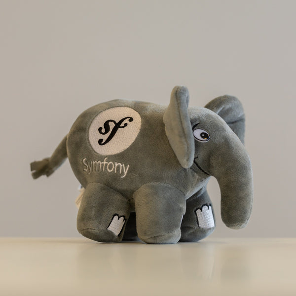 Small Symfony elePHPant / Grey color