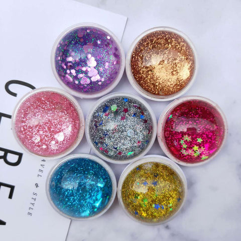 Round Liquid Glitter PopSockets - Phone Holder
