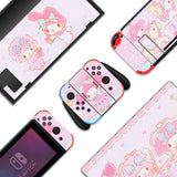 My Melody - Full Set Nintendo Switch Skin with Paw Thumb Grips