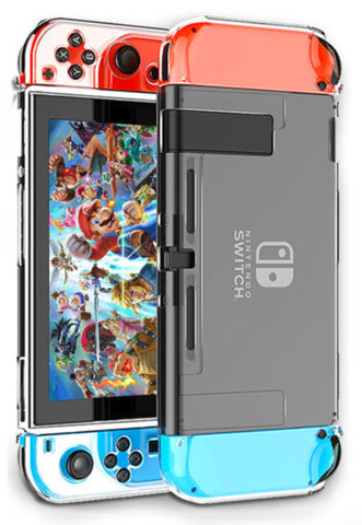 Clear Switch Case - Nintendo Switch Hard Shell Cover Protector