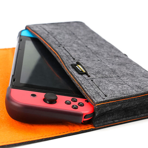 Felt Nintendo Switch Case - Slim Soft Travel Carrying Case