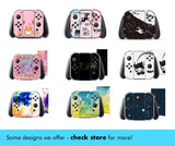 Purple Flower Skin - Full Set Nintendo Switch Standard Skin