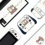 Pastel Cats Tree - Full Set Nintendo Switch Skin