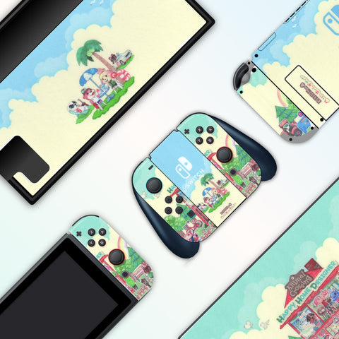 Animal Crossing Home - Full Set Nintendo Switch Skin Decal