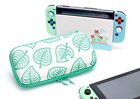 Animal Crossing Leaf Carrying Case - Nintendo Switch & Lite Travel Case