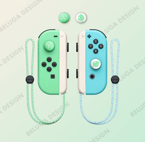 Leaf Animal Crossing Thumb Grips - Nintendo Switch & Lite