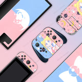 Sailor Moon Blue Pink - Full Set Nintendo Switch Standard Skin