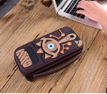 Zelda Carrying Case and Thumb Grips - Nintendo Switch Hard Carrying Case