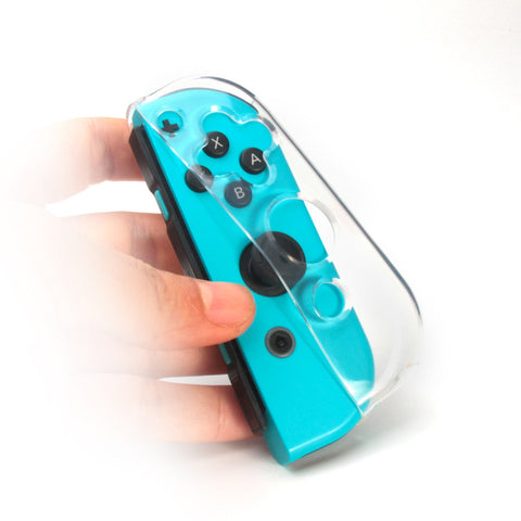 Clear Joy Con Case - Nintendo Switch Soft Silicone Shell Cover Protector