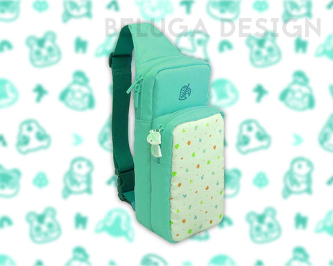 Animal Crossing Bag - Over the Shoulder Backpack - Stores Nintendo Switch and Lite