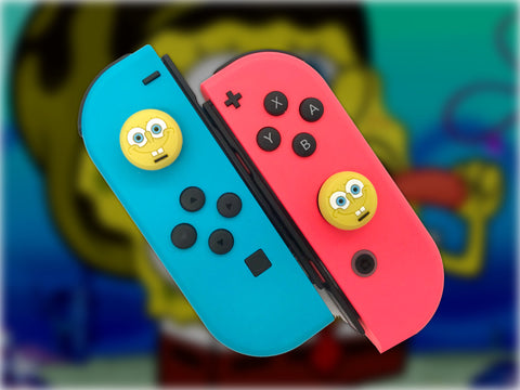 Spongebob Thumb Grips - Nintendo Switch