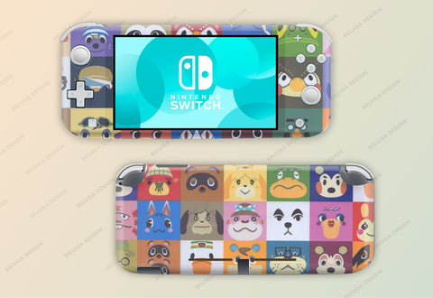 Animal Crossing Characters Skin - Nintendo Switch Lite Wrap & Sticker Decal