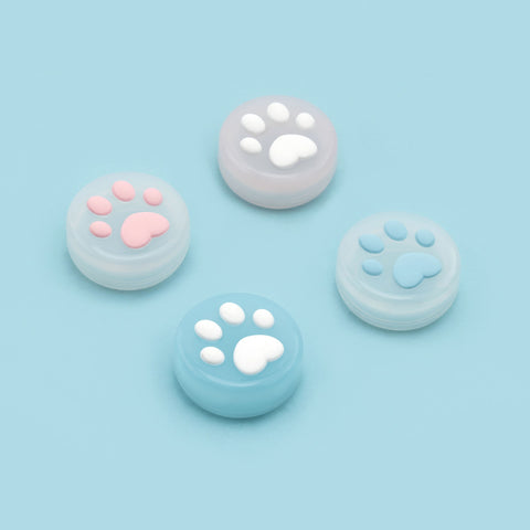 Paw Print Jelly Thumb Grips - Nintendo Switch & Lite