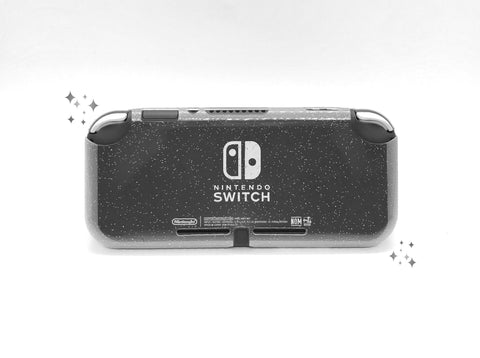 Glitter Clear Soft Switch Lite Case - Silicone Cover Protector