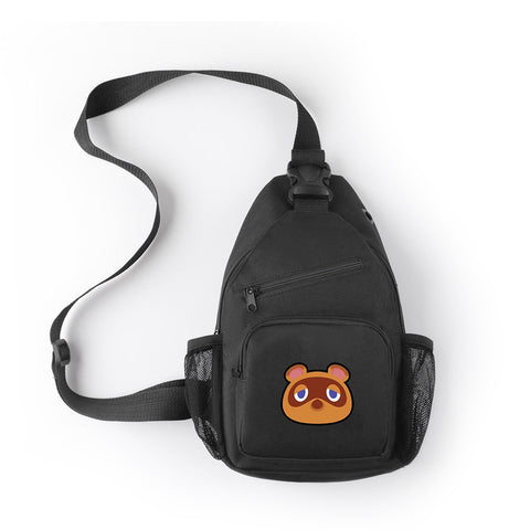 Tom Nook Canvas Bag - Over the Shoulder Backpack