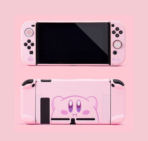Kirby Switch Case - Nintendo Switch Snap On Hard Shell Protector
