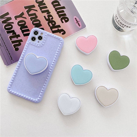 Heart Glitter PopSocket - Cell Phone Holder