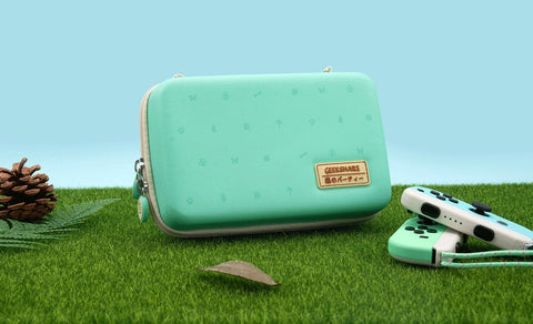 Animal Crossing Teal Carrying Case