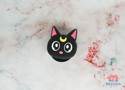Luna Cat Pop Socket - Sailor Moon Cell Phone Holder