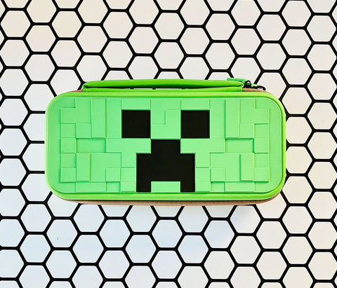 Minecraft - Switch Carrying Case or Shell - Nintendo Switch Standard - Green Creeper