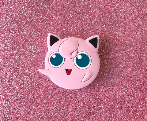 Jigglypuff Pop Socket - Pokemon Smash Bros Cell Phone Holder