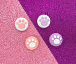 4 Paw Print Thumb Grips - Nintendo Switch & Lite Button Cap Covers - Pack of 4