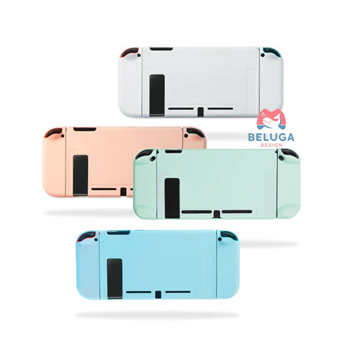 Pastel Solid Color Switch Case - Dockable Nintendo Switch Hard Shell