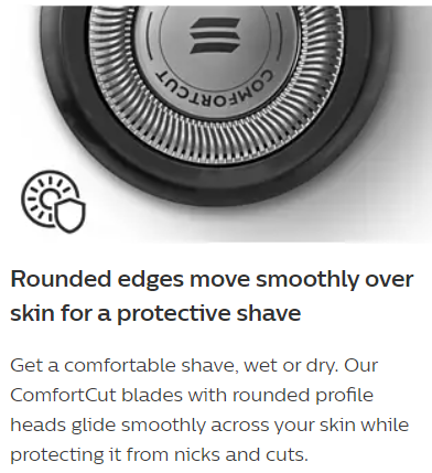 Philips S5050 S5420 Shaver Blades