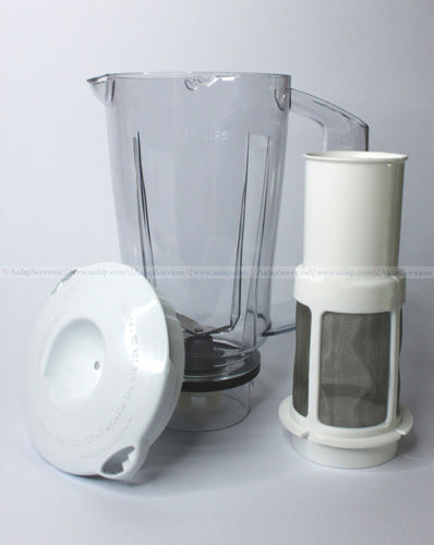 Philips Blender Jar Assembly for HL164304 HL164306 & HL1645