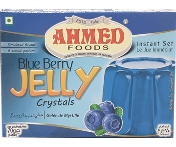 Ahmed Foods Blue Berry Jelly Crystals 70g