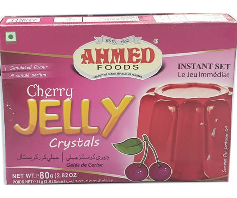 Ahmed Foods Cherry Jelly Crystals 80g