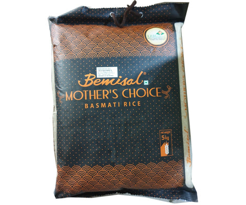 Bemisal Mother's Choice Basmati Rice 5kg